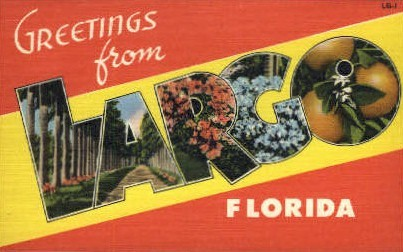 Largo, Florida, FL Postcard