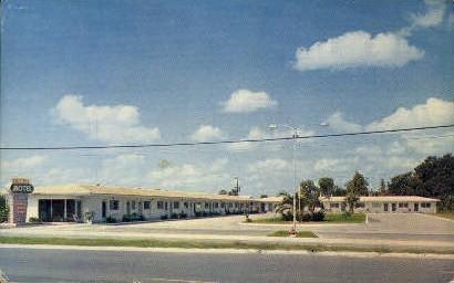 North City Motel - Leesburg, Florida FL Postcard