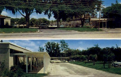 Mid-Lakes Motel - Leesburg, Florida FL Postcard