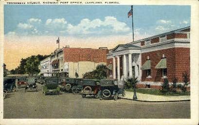 Tennesse Avenue - Lakeland, Florida FL Postcard