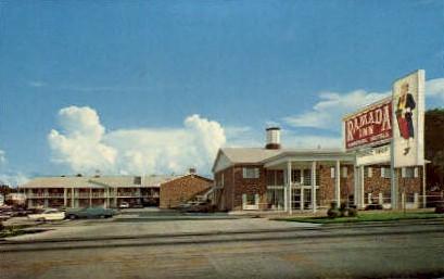 Ramada Inn Motel - Lakeland, Florida FL Postcard