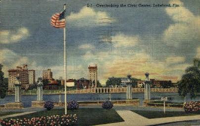 Civic Center - Lakeland, Florida FL Postcard