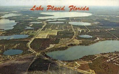 Lake Placid - Lakeland, Florida FL Postcard