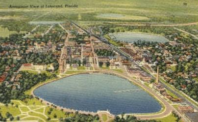 Lakeland, Florida, FL Postcard