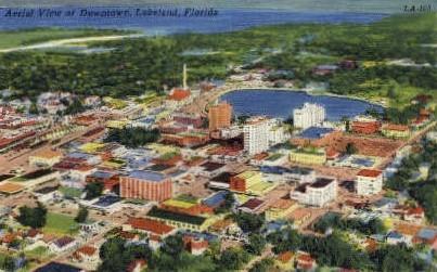 Downtown - Lakeland, Florida FL Postcard