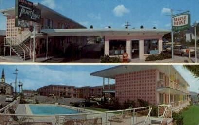 Lakeland TraveLodge - Florida FL Postcard