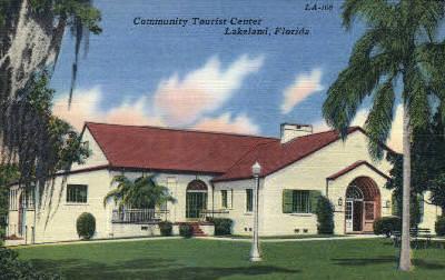 New Community Tourist Center - Lakeland, Florida FL Postcard
