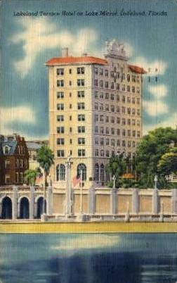 Lakeland Terrace Hotel - Florida FL Postcard