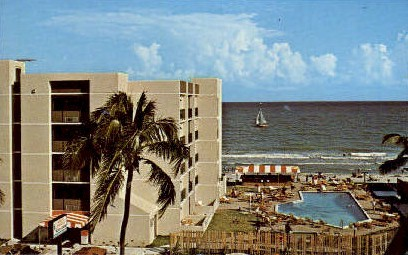 Howard Johnson's Motor Lodge - Lauderdale by the Sea, Florida FL Postcard