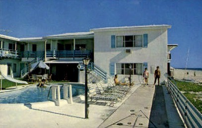 Tropic Ranch - Lauderdale by the Sea, Florida FL Postcard