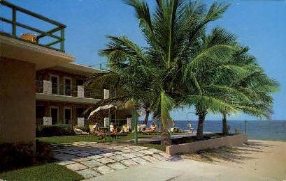 Ocean Villa Apartments - Lauderdale by the Sea, Florida FL Postcard