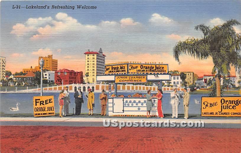 Lakeland, Florida FL Postcard
