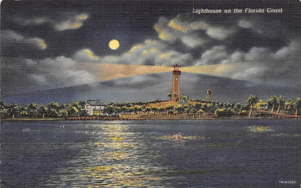 Lighthouse on the Florida Coast Postcard