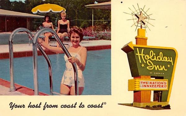 Holiday Inn Lakeland, Florida Postcard