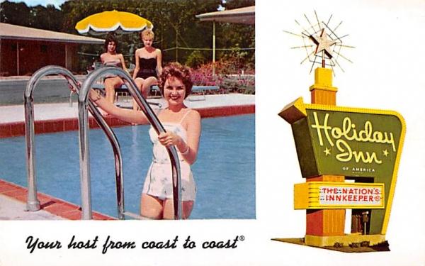 Holiday Inn Leesburg, Florida Postcard