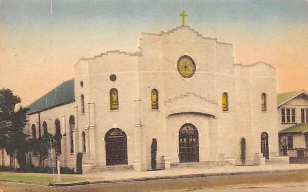 St. Joseph's Catholic Church Lakeland, Florida Postcard