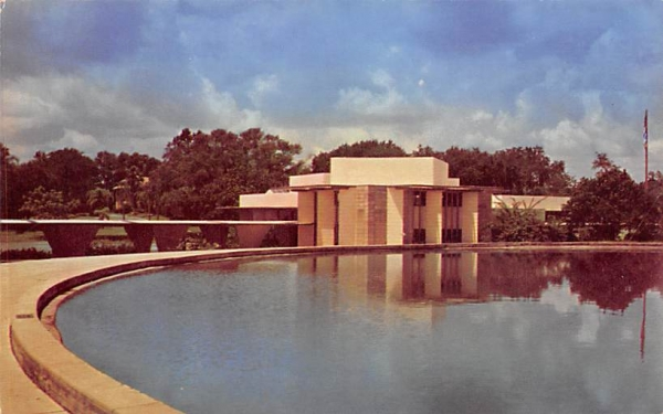 Administration Building, Florida Southern College Postcard