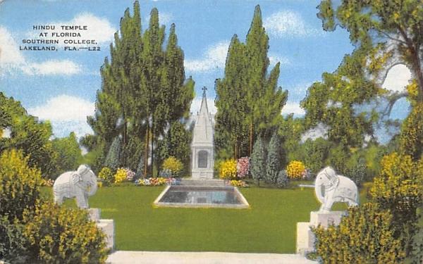 Hindu Temple at Florida Southern Colletge, USA Postcard
