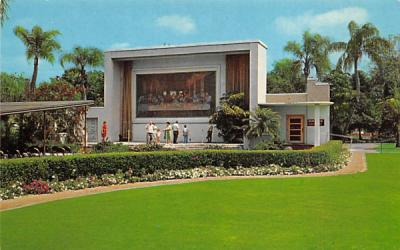 The Masterpiece Gardens Lake Wales, Florida Postcard