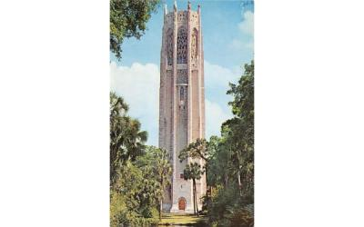 The Majestic Singing Tower Lake Wales, Florida Postcard