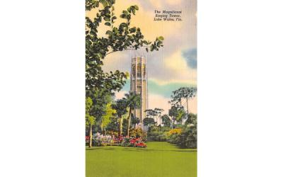 The Magnificent Singing Tower Lake Wales, Florida Postcard
