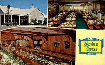Sweden House - Miami, Florida FL Postcard