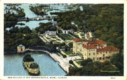 Deering Estate - Miami, Florida FL Postcard