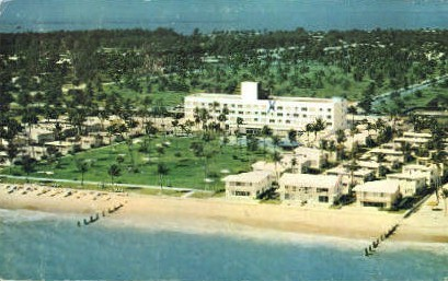 Key Biscayne Hotel - Miami, Florida FL Postcard