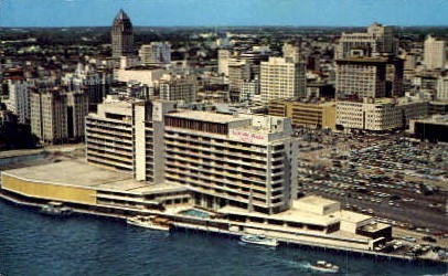 Dupont Plaza Hotel - Miami, Florida FL Postcard
