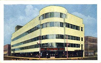 Walgreens - Miami, Florida FL Postcard