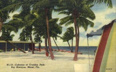 Crandon Park - Miami, Florida FL Postcard