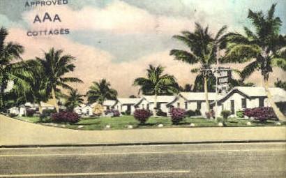 Alcazar Motor Court - Miami, Florida FL Postcard