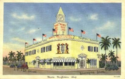 Miami Mayflower Shop - Florida FL Postcard