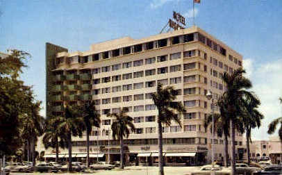 Biscayne Terrace Hotel - Miami, Florida FL Postcard