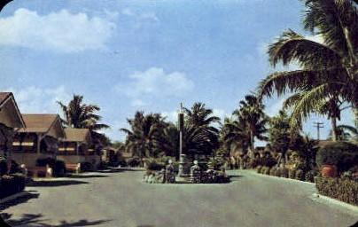 Pine Terrace Cottages - Miami, Florida FL Postcard