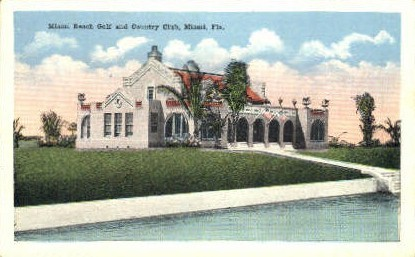 Country Club - Miami, Florida FL Postcard