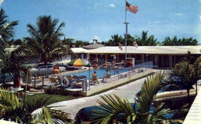 Danker's Motel Court - Miami, Florida FL Postcard