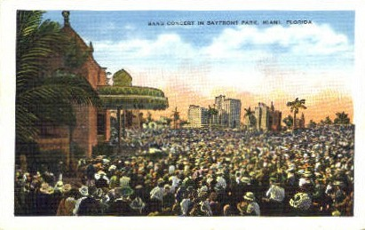Bayfront Park - Miami, Florida FL Postcard