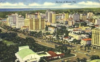 Miami, Florida, FL Postcard