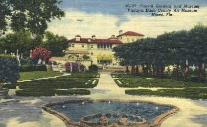 Dade County Art Museum - Miami, Florida FL Postcard