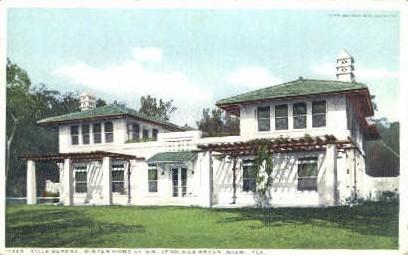 Villa Serena - Miami, Florida FL Postcard
