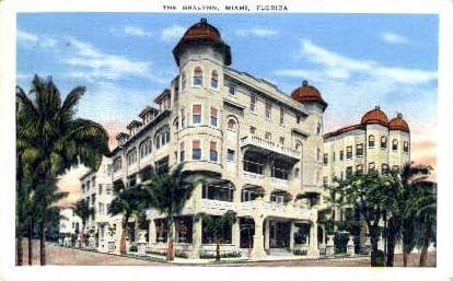 Gralynn Hotel - Miami, Florida FL Postcard