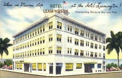Leamington Hotel - Miami, Florida FL Postcard