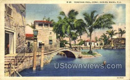 Coral Gables - Miami, Florida FL Postcard