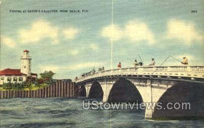 Baker's Haulover - Miami, Florida FL Postcard
