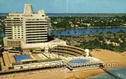 Bright Sun Colony - Miami, Florida FL Postcard
