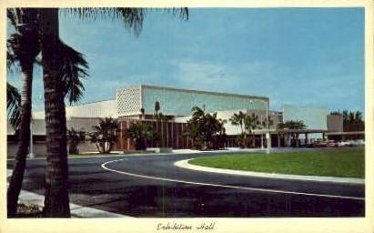 Exhibition Hall - Miami Beach, Florida FL Postcard
