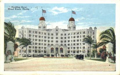 Nautillus Hotel - Miami Beach, Florida FL Postcard