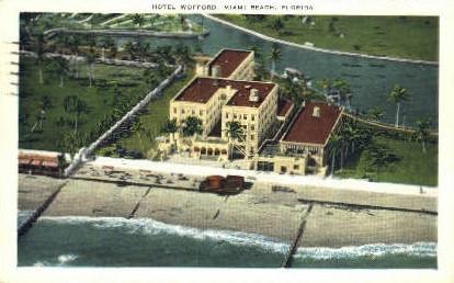 Wofford Hotel - Miami Beach, Florida FL Postcard
