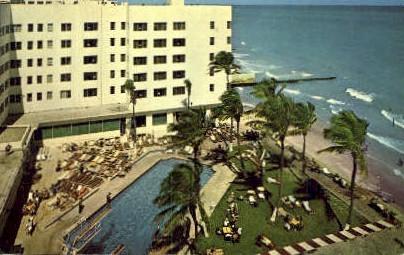 Caribbean Hotel - Miami Beach, Florida FL Postcard